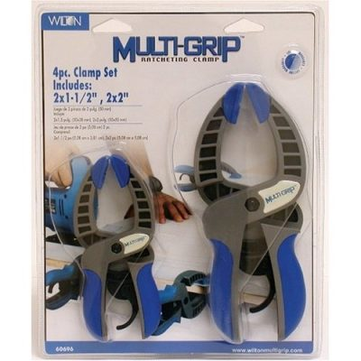 Wilton 4pc Multigrip Clamp Set