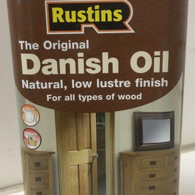 Rustins – Original Danish Oil