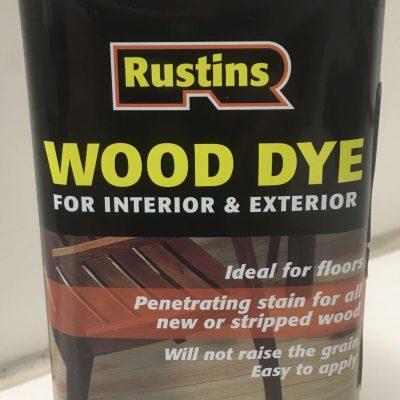 rustins wood dye