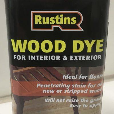 rustins wood dye 8