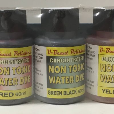 u Beaut Polishes - Concentrated Non Toxic Water Dye Pack